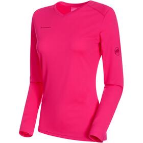Mammut Sertig - Camiseta de manga larga Mujer - rosa